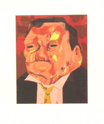 Dana Schutz, Untitled Poisoned Man, 2006