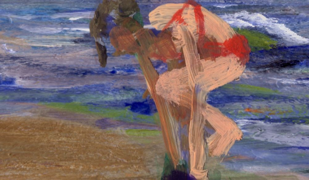 Still from Surf, 2005, Animation on DVD