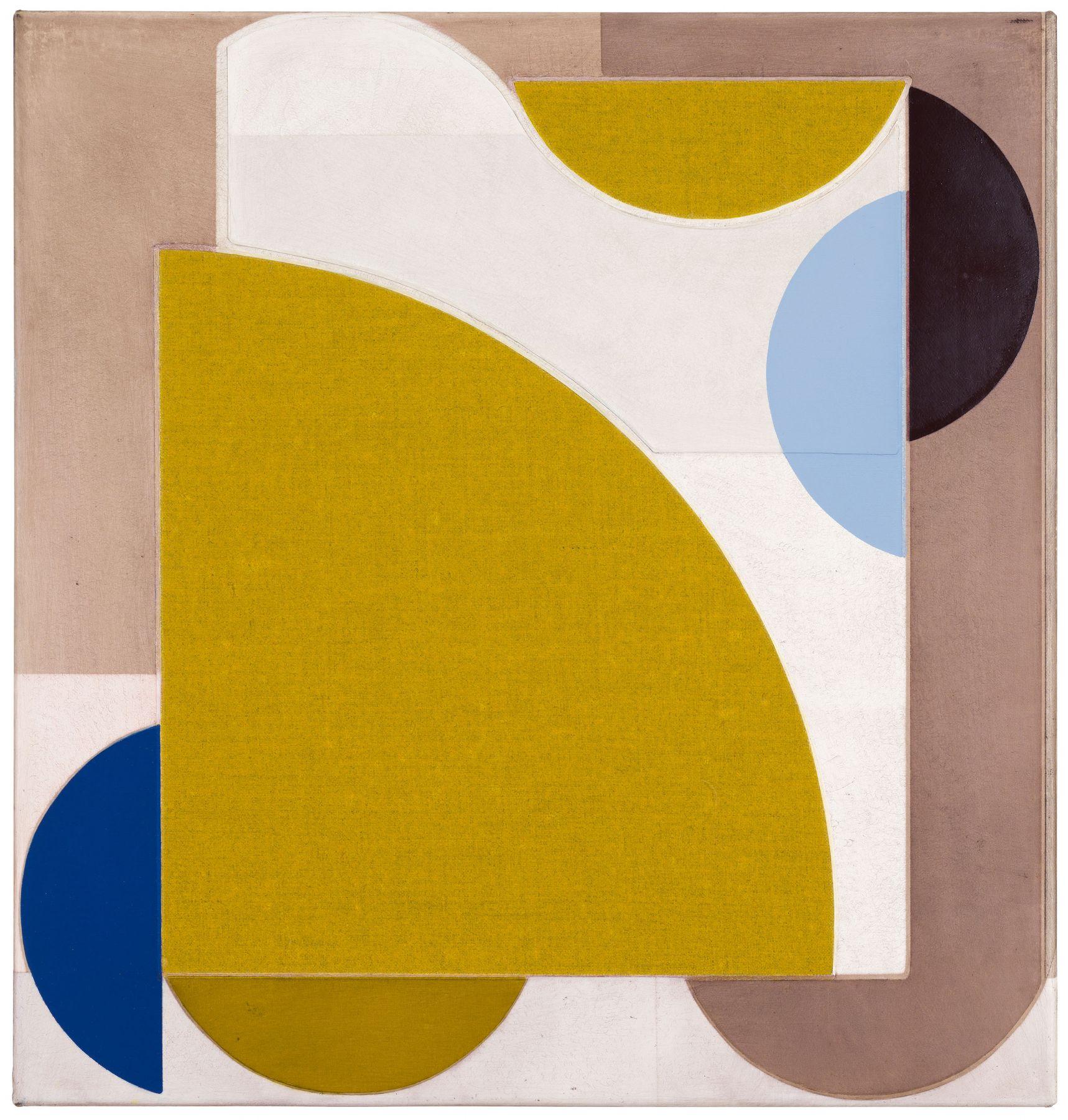 Svenja Deininger's art on display in a Chelsea gallery