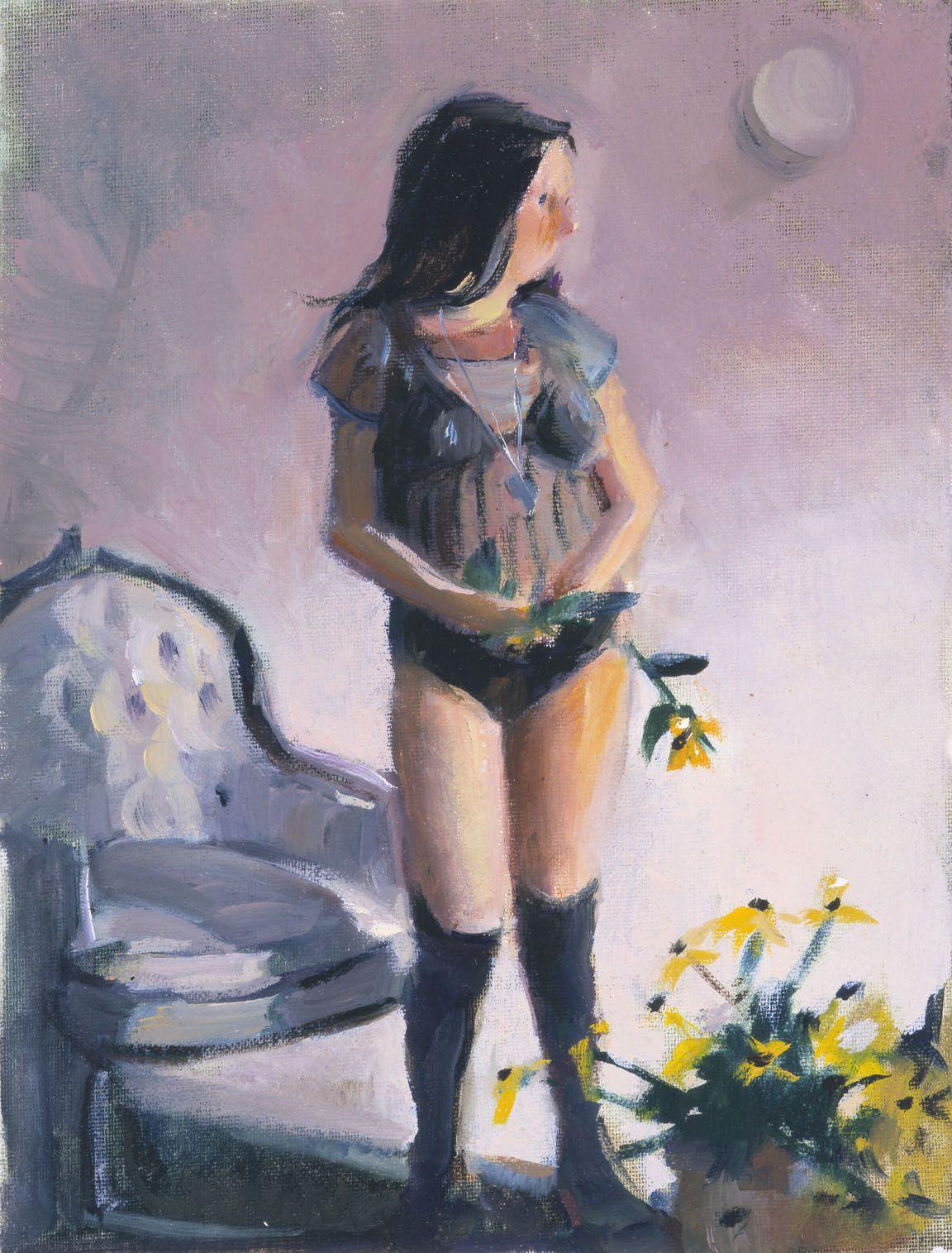 Wee Babie II, 2003, Oil on canvas board