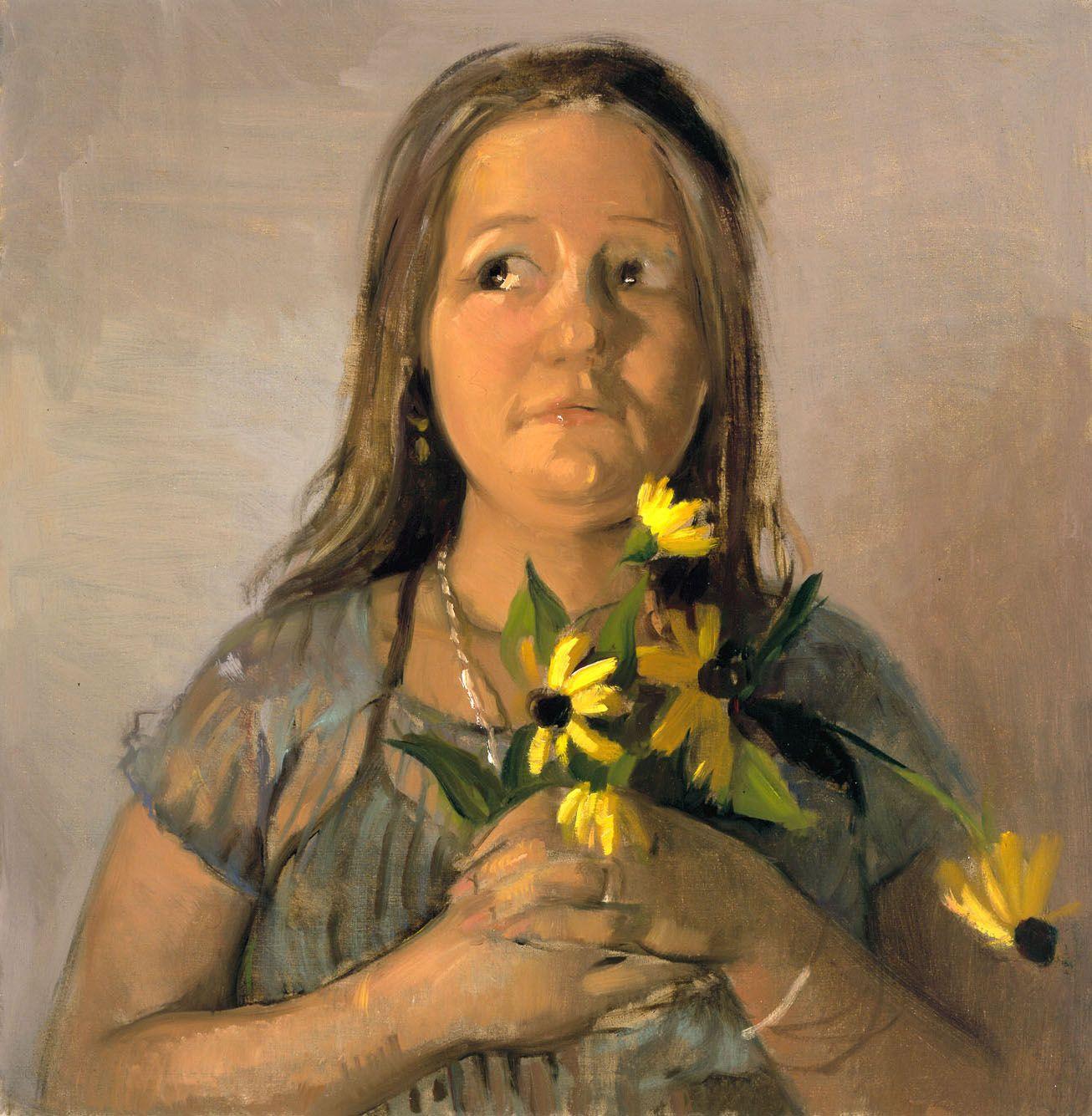Babie I, 2003, Oil on linen