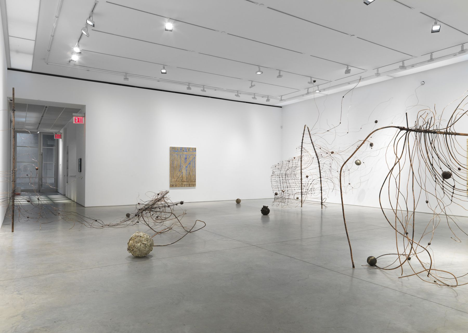 Jay Heikes: Keep Out (Installation View)