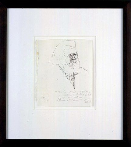 Mr. Gay in the U.S.A. #2, 2001, Graphite on paper