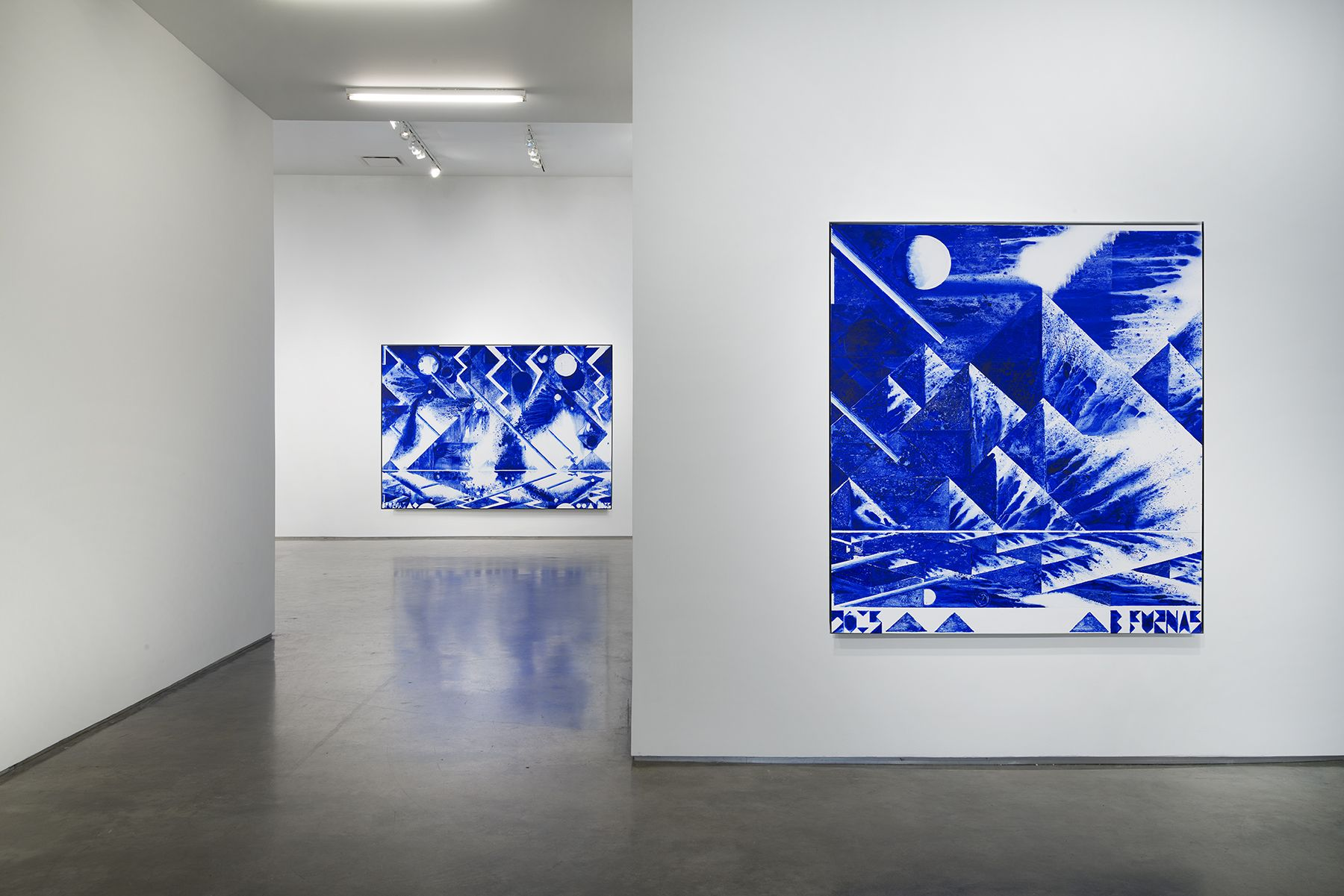 First Morning (Installation View), Marianne Boesky Gallery, 2015