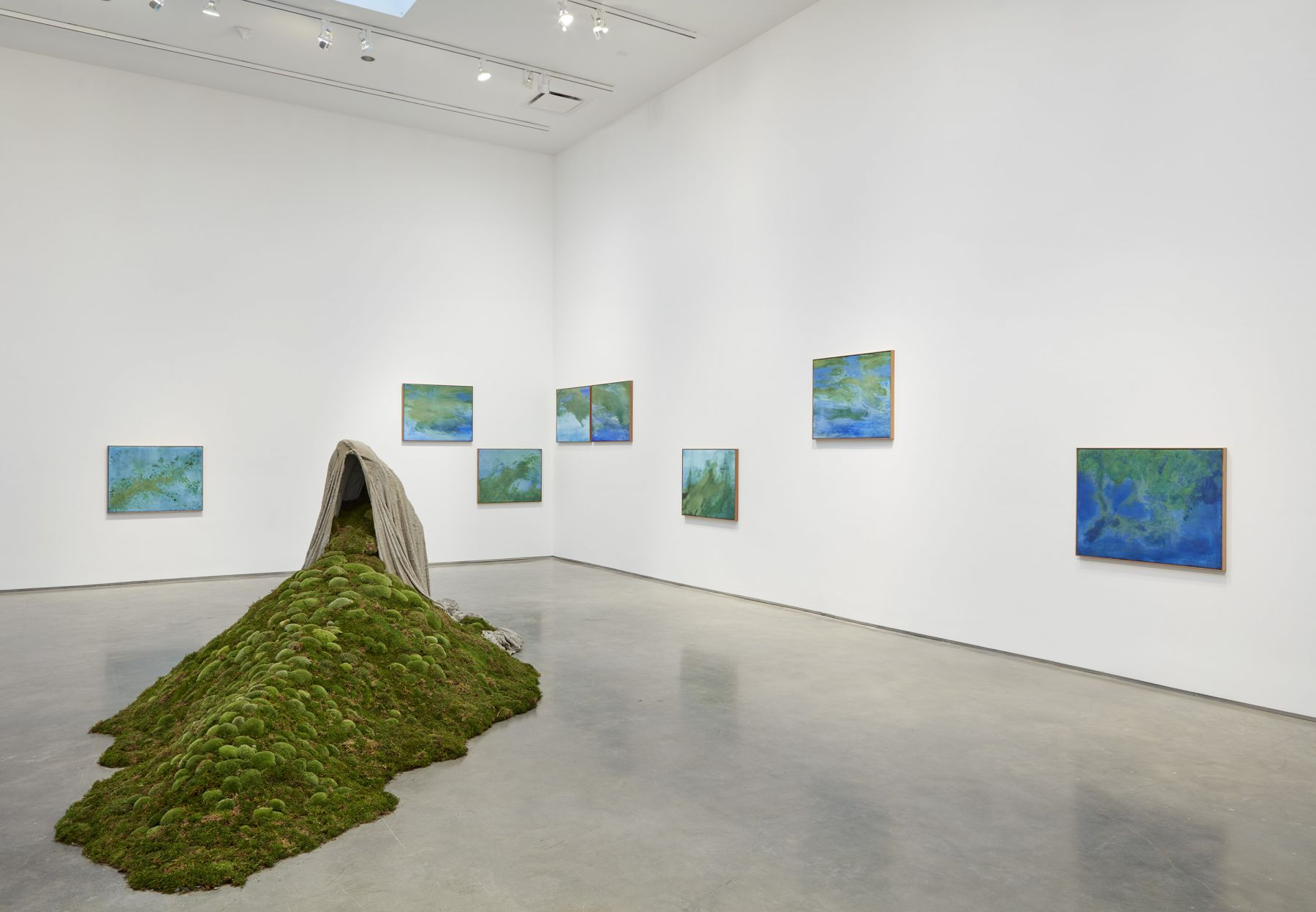 The First Green (Installation View)
