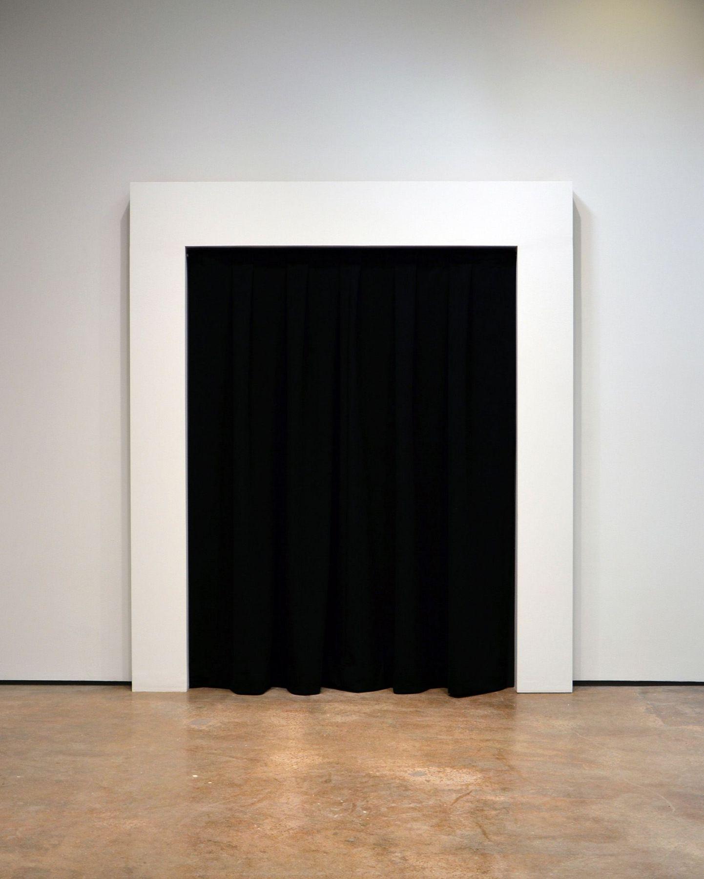 black curtain by john waters
