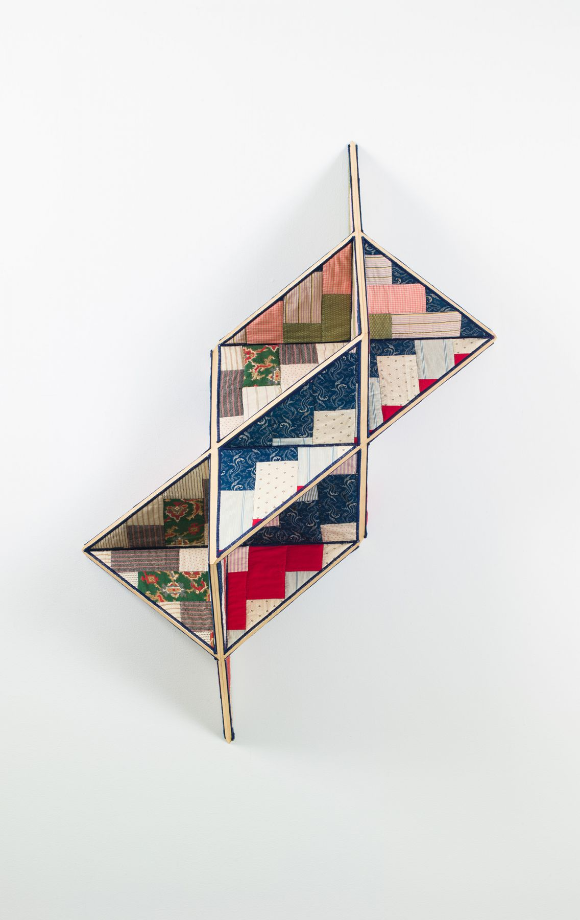 an antique quilt work by Sanford Biggers for sale