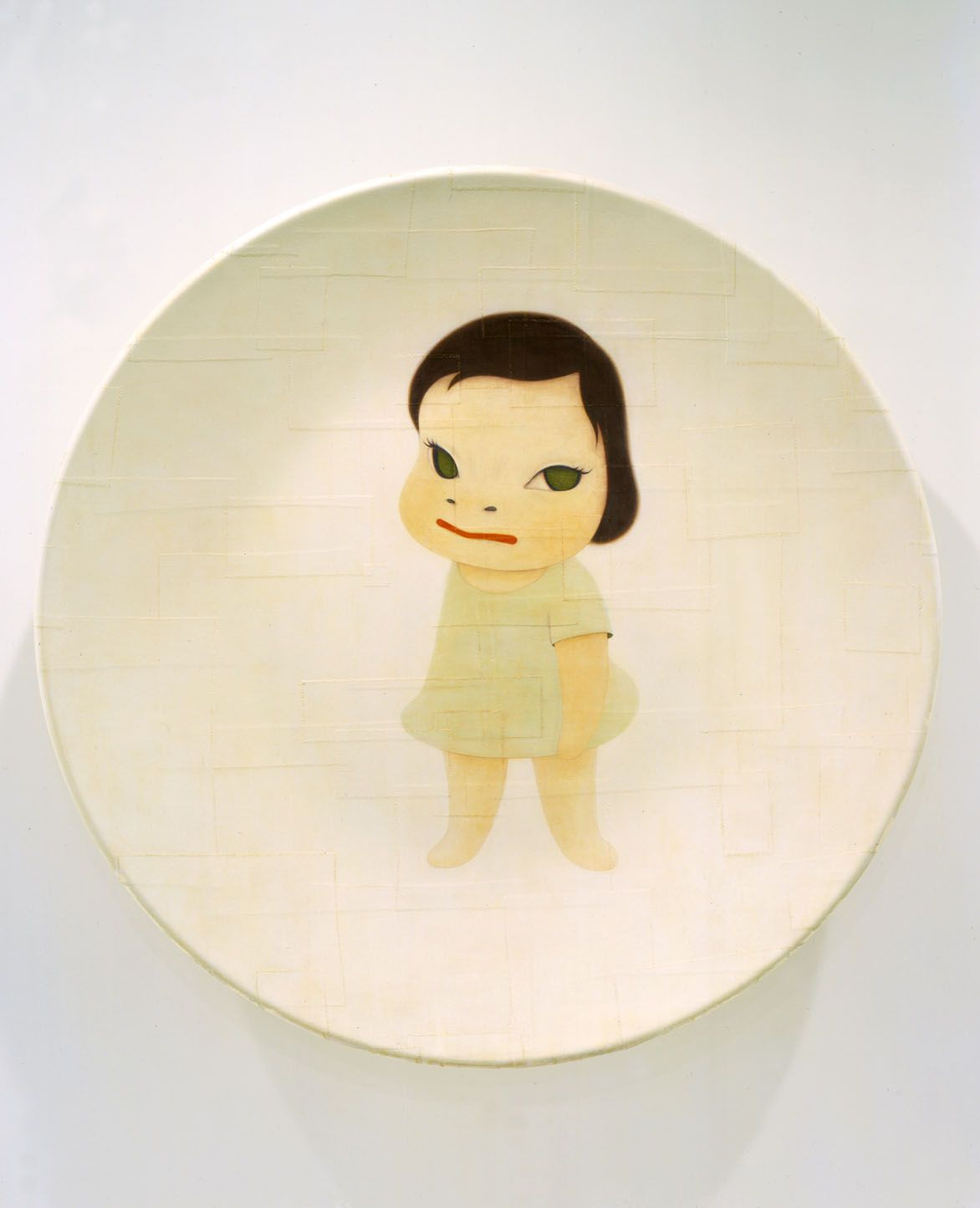 Right Hand in Back, 2002, Acrylic on canvas over fiberglass