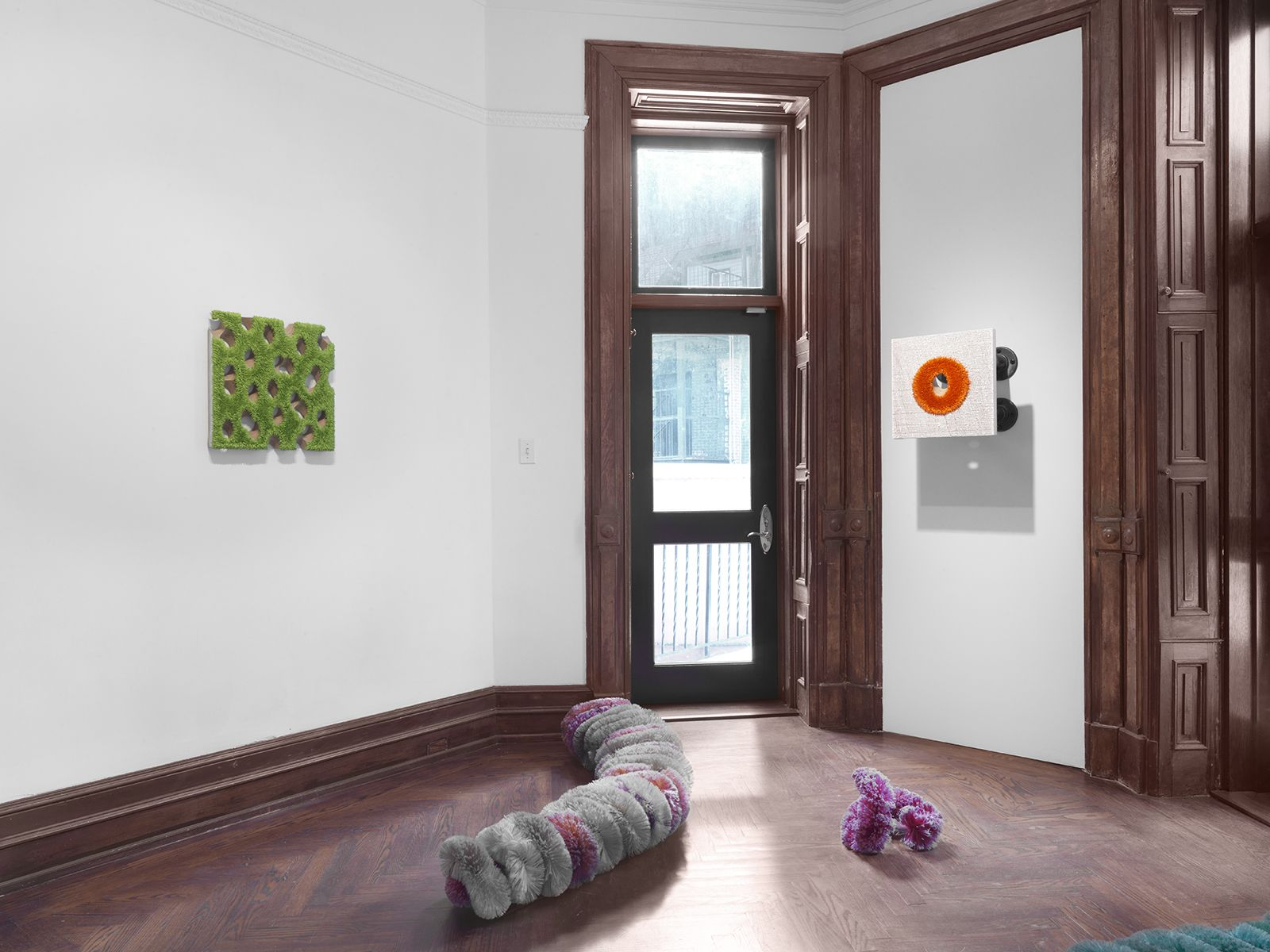 Floss (Installation View), 118 East 64th Street, 2016