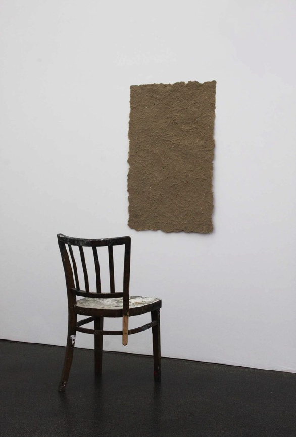 an installation by Bjorn Braun in a New York City contemporary art gallery