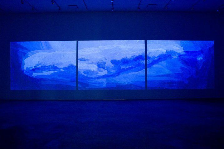 Whale, 2006 [Installation view]