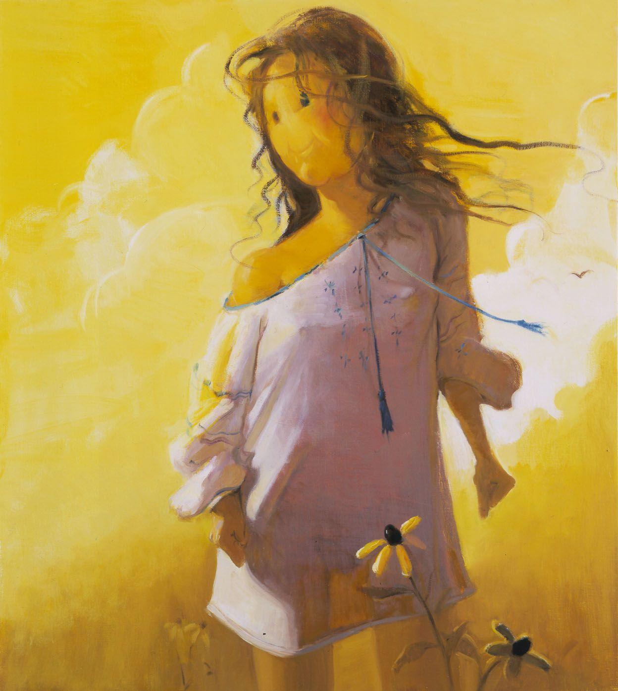 Smiley, 2003, Oil on linen