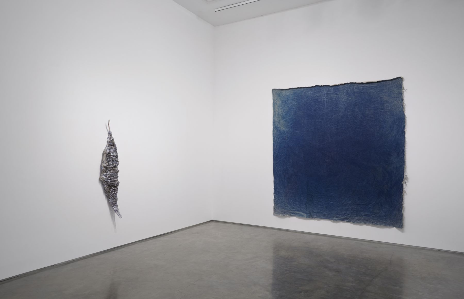 Installation View, Jay Heikes: Walkabout, Marianne Boesky Gallery, New York