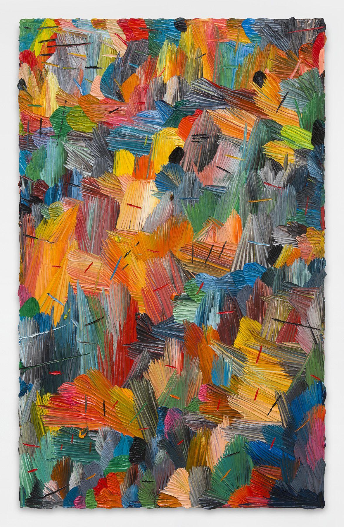 e.f.w. (g.e.) 3/17, 2017, Oil on canvas