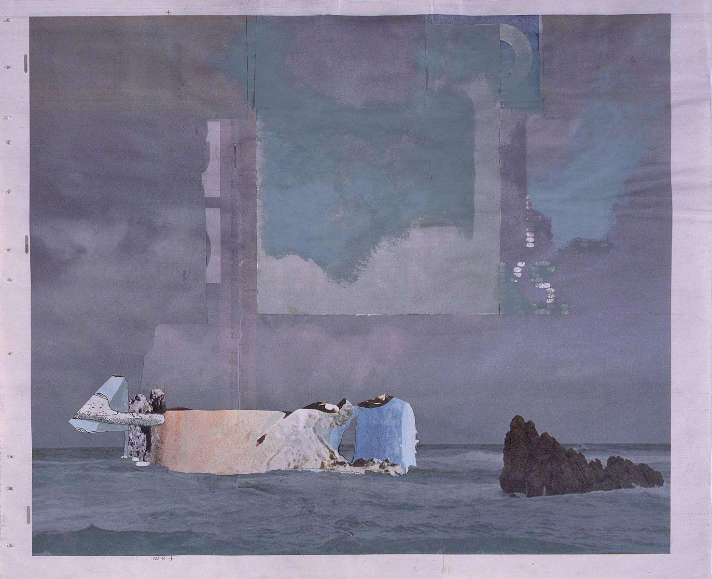purple seascape by tony swain