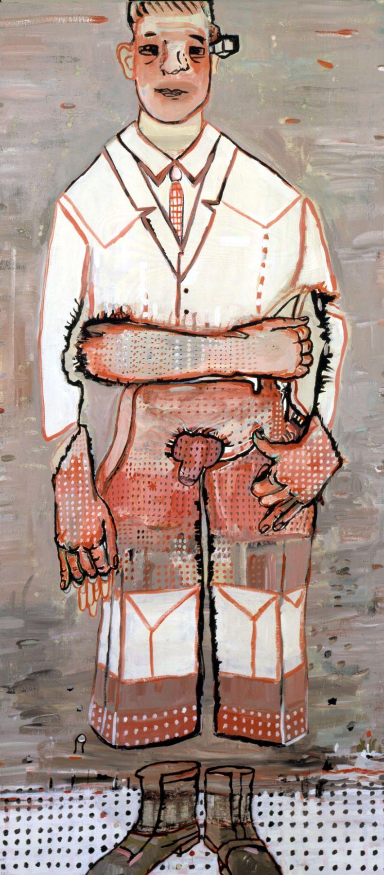 No Body, 2004, Acrylic on canvas