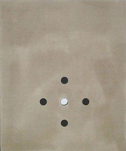 Lot 032308 (O-oooo), 2008, Oil, rabbit skin glue and poly vinyl acetate on linen