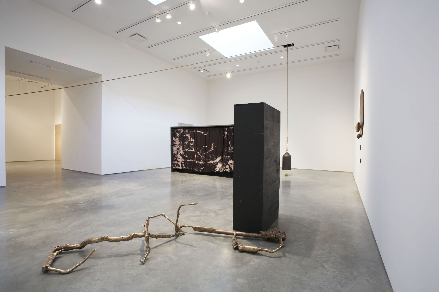 Jay Heikes (Installation view), Marianne Boesky Gallery, 2007