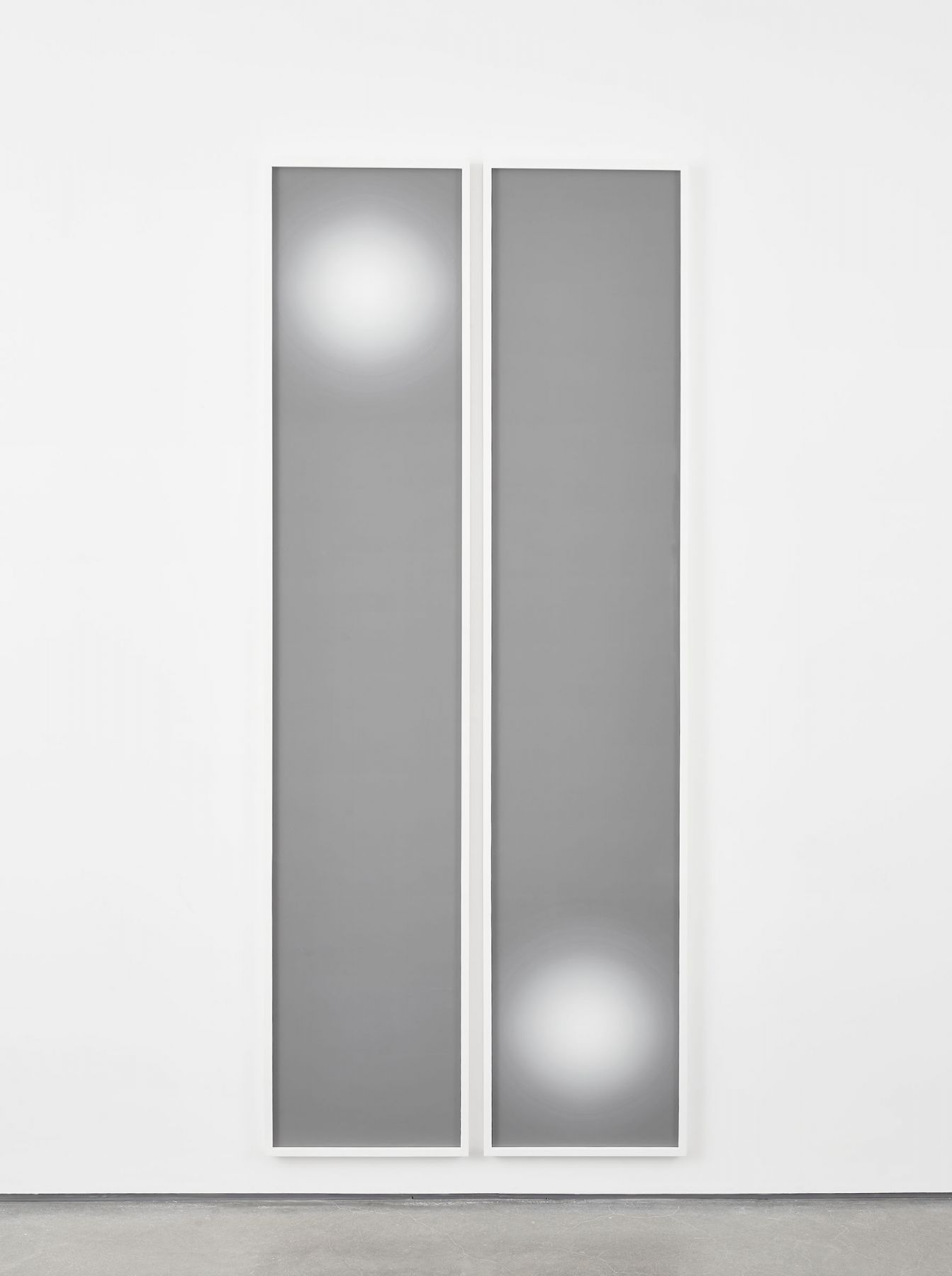 minimalist photographs in grey and white by contemporary artist anthony pearson