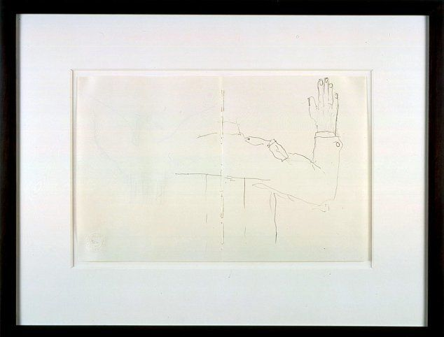 Mr. Gay in the U.S.A. #12, 2001, Graphite on paper