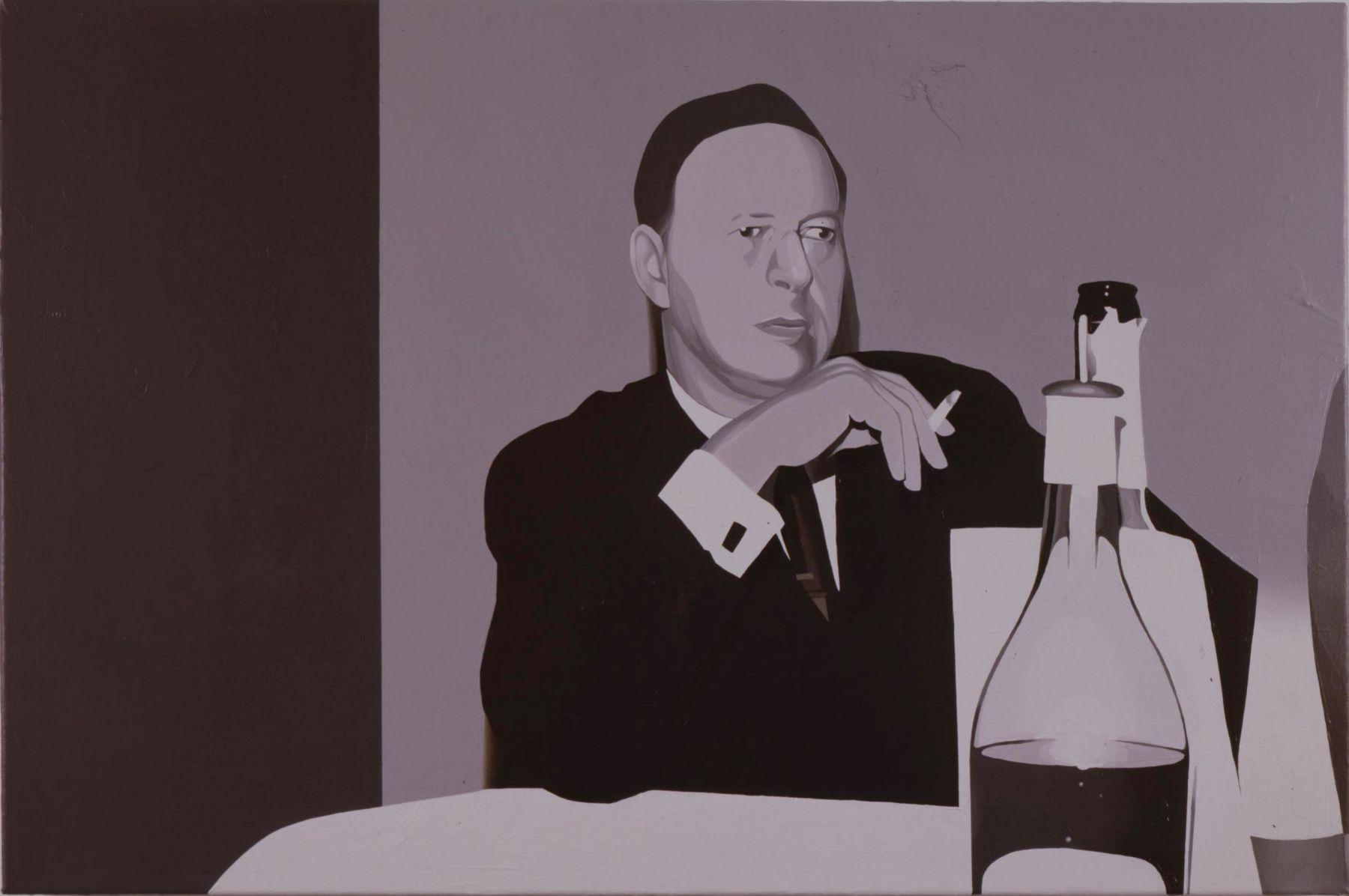 Franziska Holstein, Man with Cigarette (Mann mit Zigarette), 2006