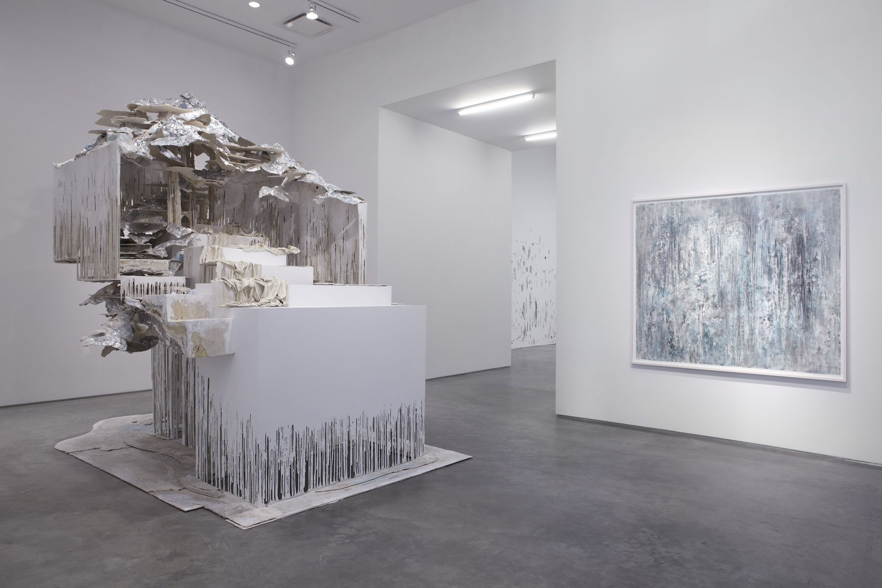 The Vanishing Point (Installation view), Marianne Boesky Gallery, 2012