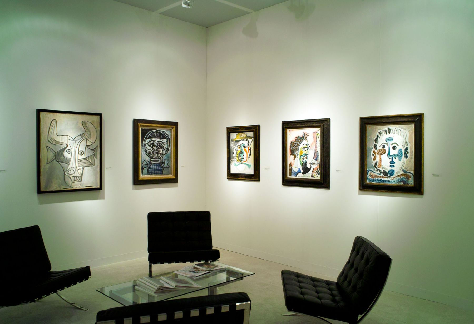 Installation view of Art Basel | Miami Beach 2014, booth B1. Photography by Karen Fuchs.  ©Helly Nahmad Gallery NY.