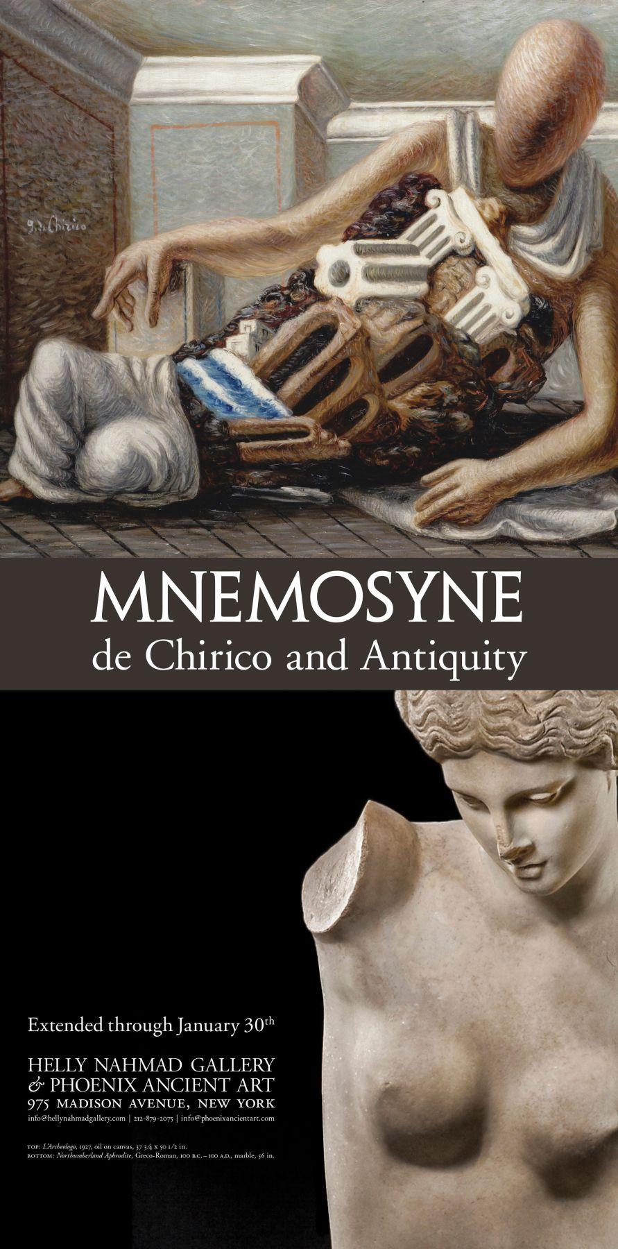 Mnemosyne Statue