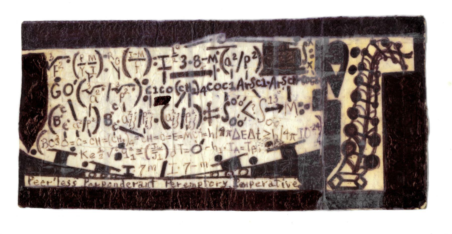 Arieledesprite Nyanza,n.d., Ballpoint pen on paper with Scotch tape