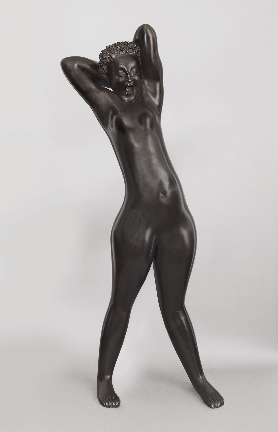 Hugo Robus, Dawn , 1931, bronze, 66 1/2 x 28 x 17 inches, Edition of 3 - lifetime cast