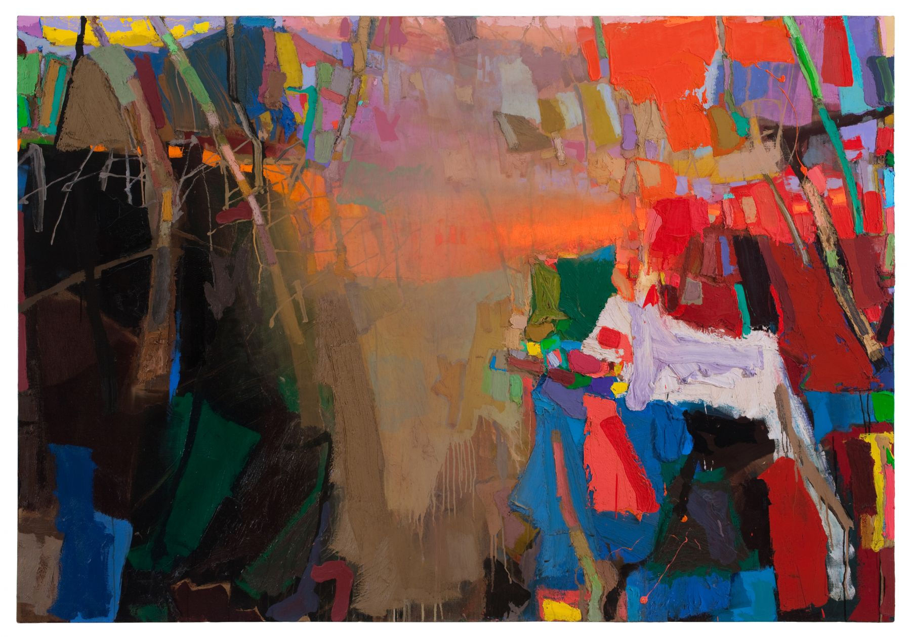 Brian Rutenberg Low Light (SOLD), 2010 oil on linen 50 x 72 inches