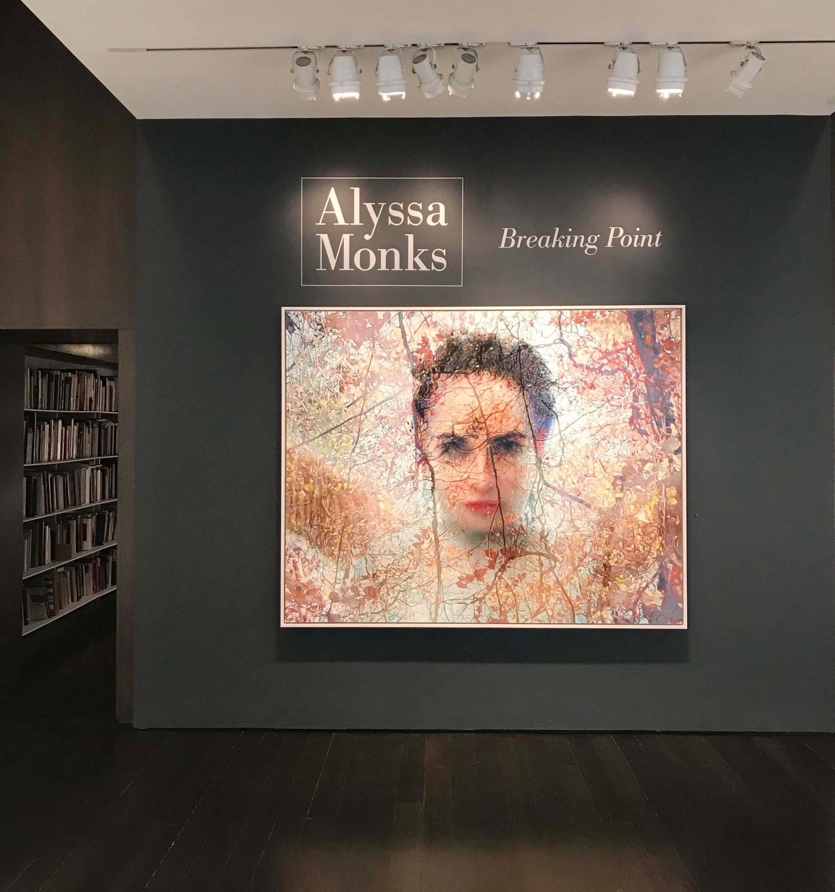 installation photo: Alyssa Monks: Breaking Point, Forum Gallery, New York, NY, October 4 - November 3, 2018