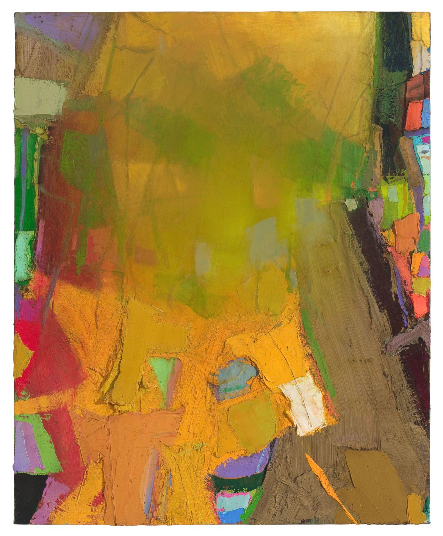 Brian Rutenberg Gainsborough Suite 3 (SOLD), 2010, oil on linen, 32 x 26 inches