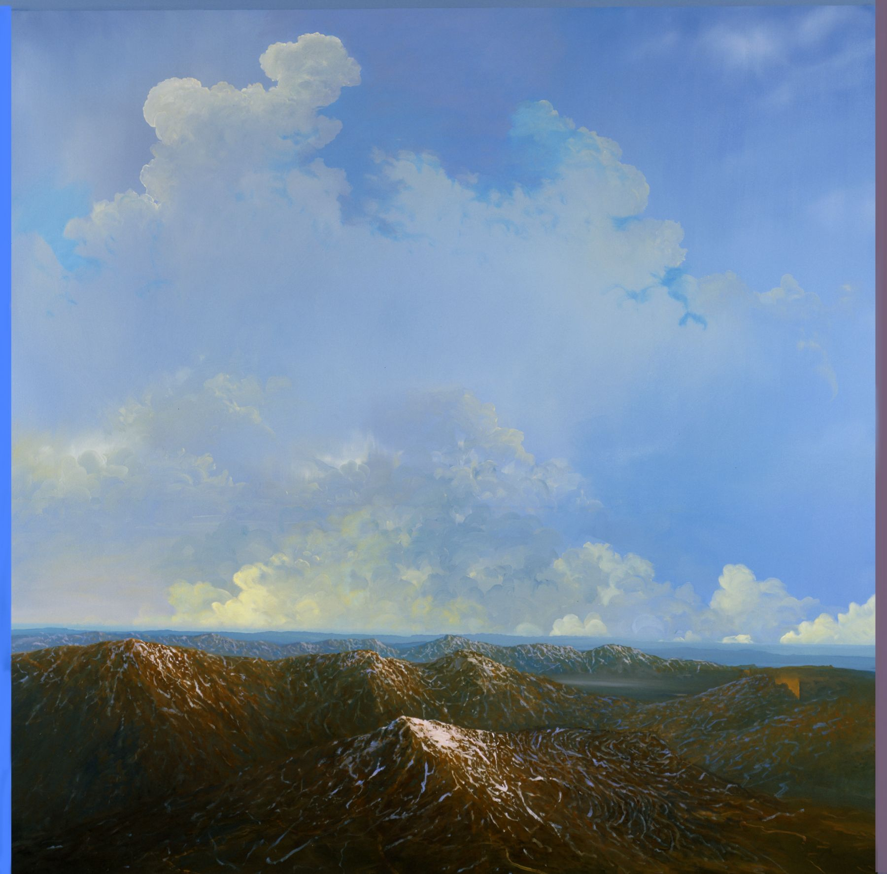 Tula Telfair, Perception Becomes Action, 2008, oil on canvas, 60 x 60 inches