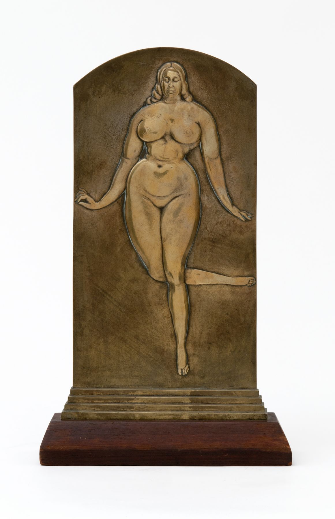 Gaston Lachaise, Woman, c. 1911–18, bronze relief, 14 1/2 h x 7 w x 1 1/2 d inches, unique cast
