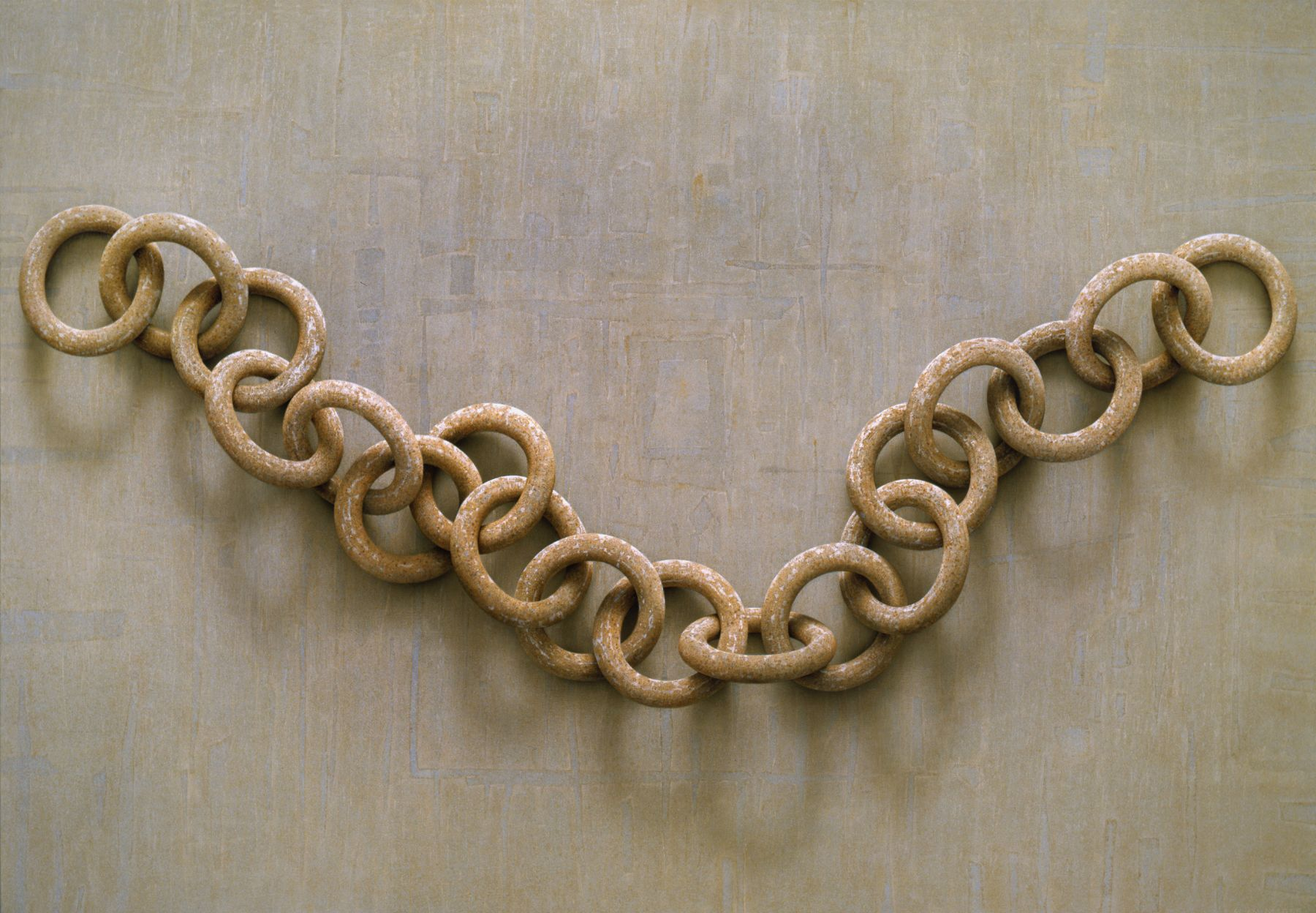 alan magee, Chain, 2008, acrylic on canvas, 58 x 84 inches