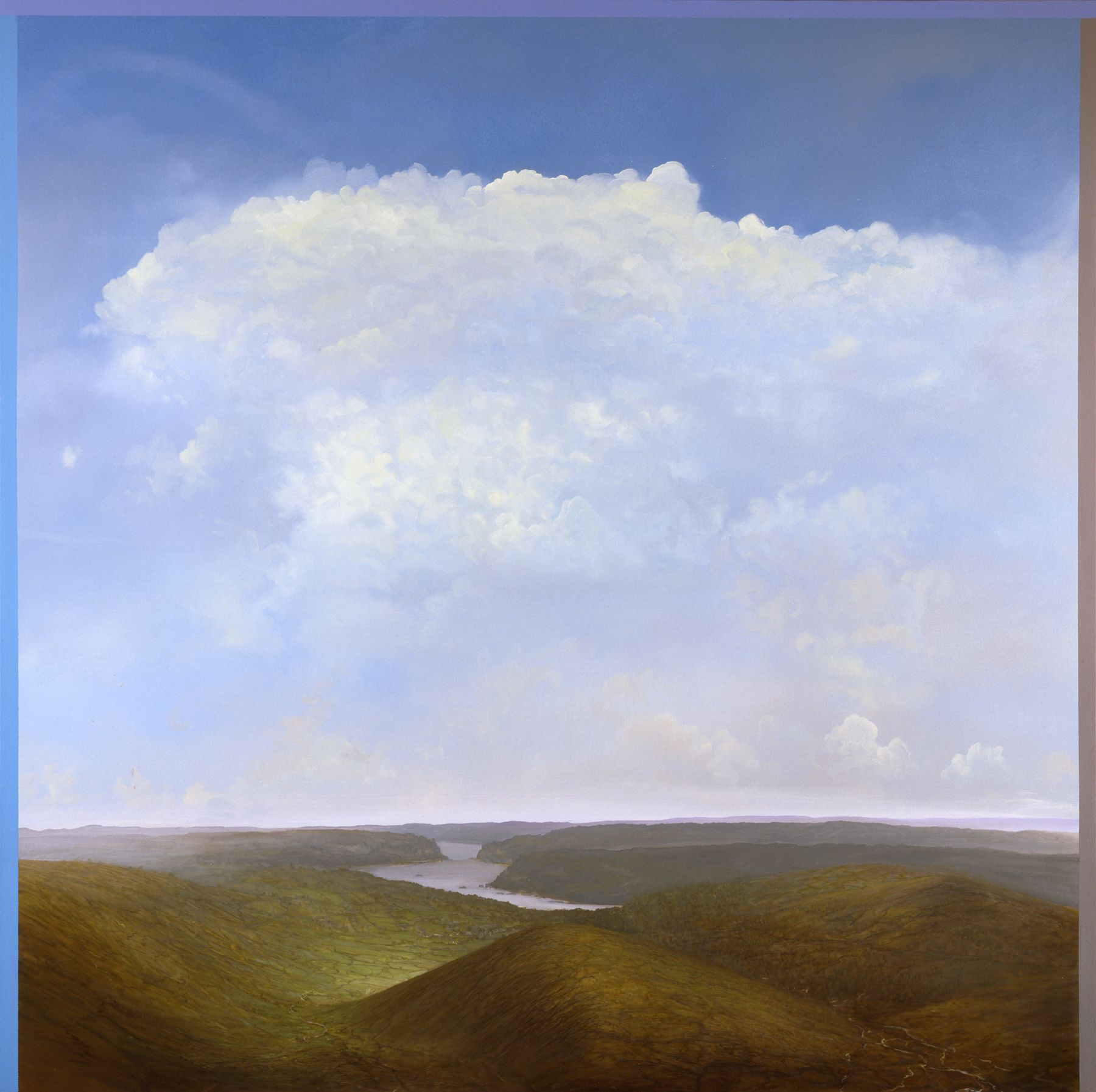 Tula Telfair, The Convergence of Context and Memory (SOLD), 2007, oil on canvas, 60 x 60 inches