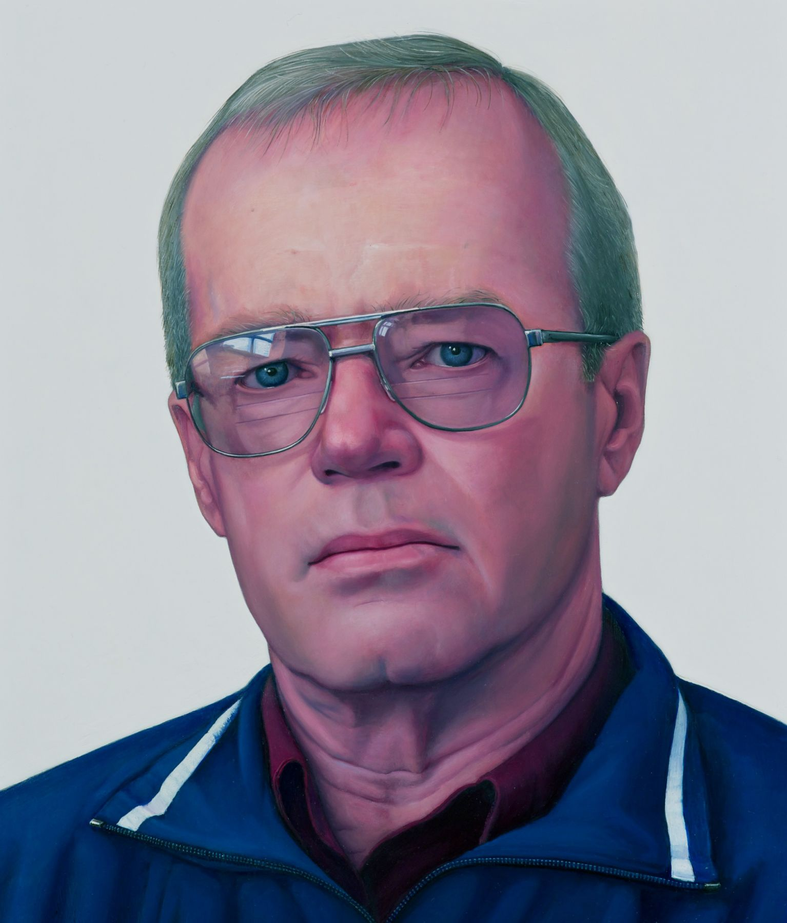 william beckman, Richard Beckman, 2008, oil on panel, 20 x 16 1/2 inches