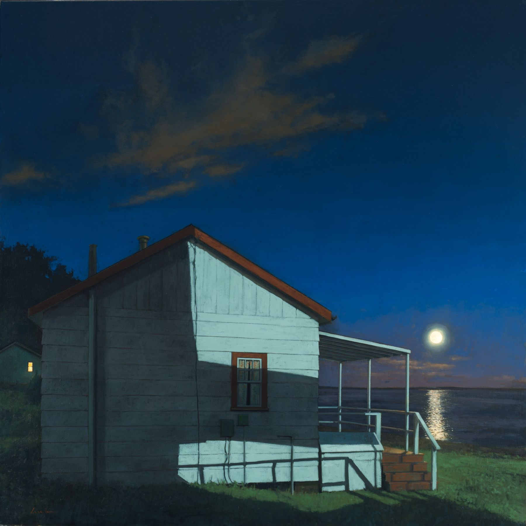Linden Frederick Seasonal (SOLD), 2010, oil on linen, 40 x 40 inches