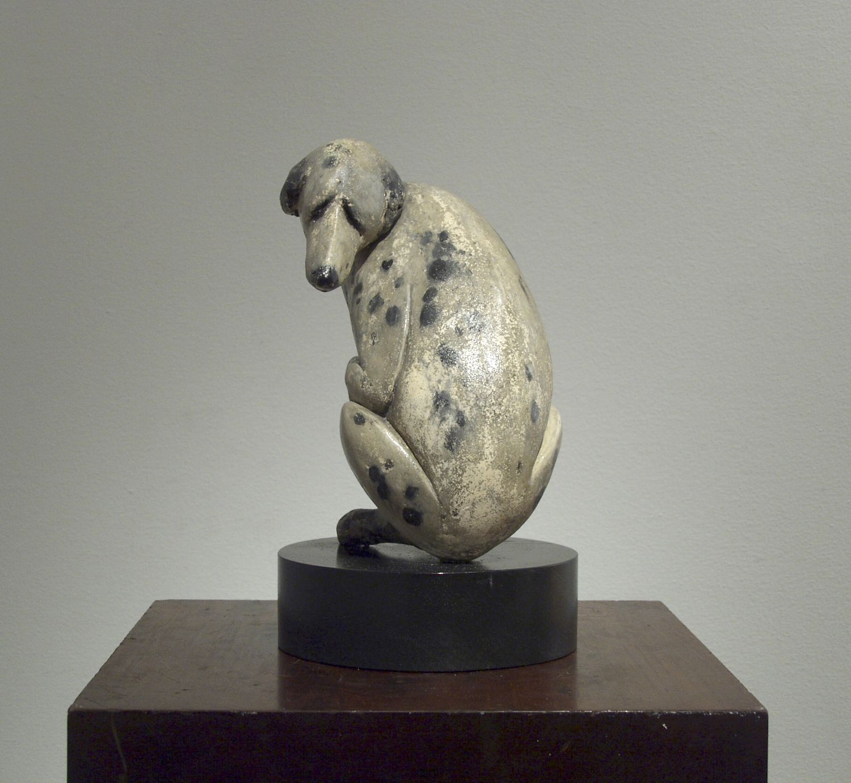 Laura Ziegler, Il Mio Cane, 1975, terra cotta, 8 1/2 inches