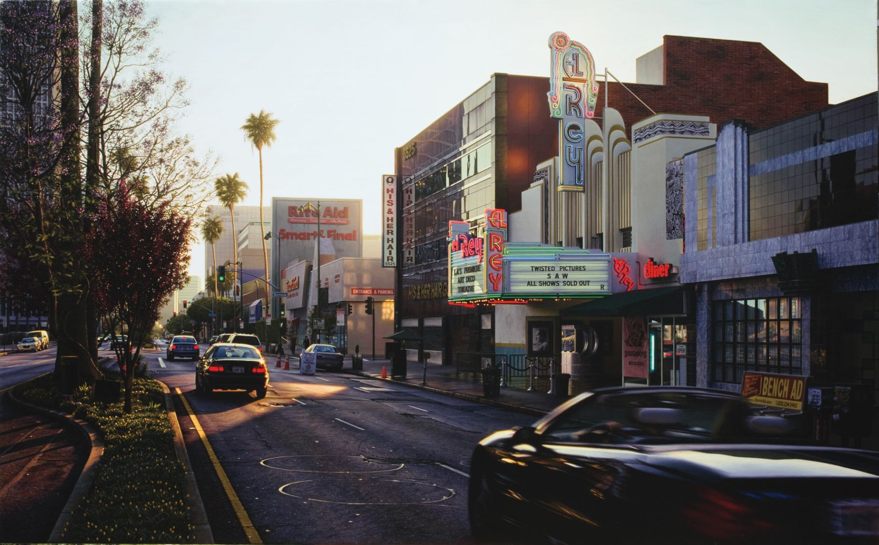davis cone, El Rey (SOLD), 2008-09, acrylic on canvas, 30 x 48 inches