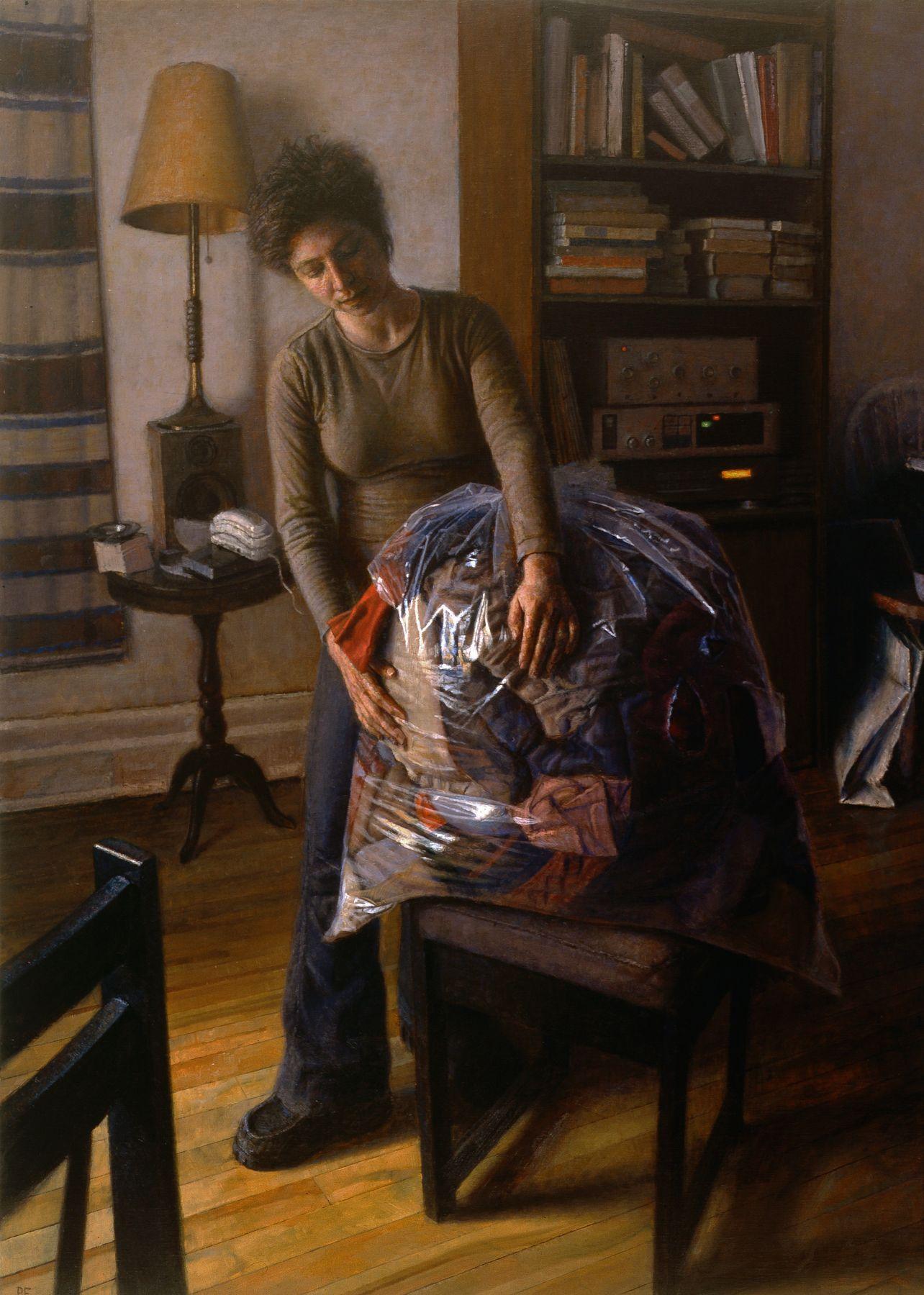 Paul Fenniak, Rupture (SOLD), 2005, oil on canvas, 48 x 36 inches