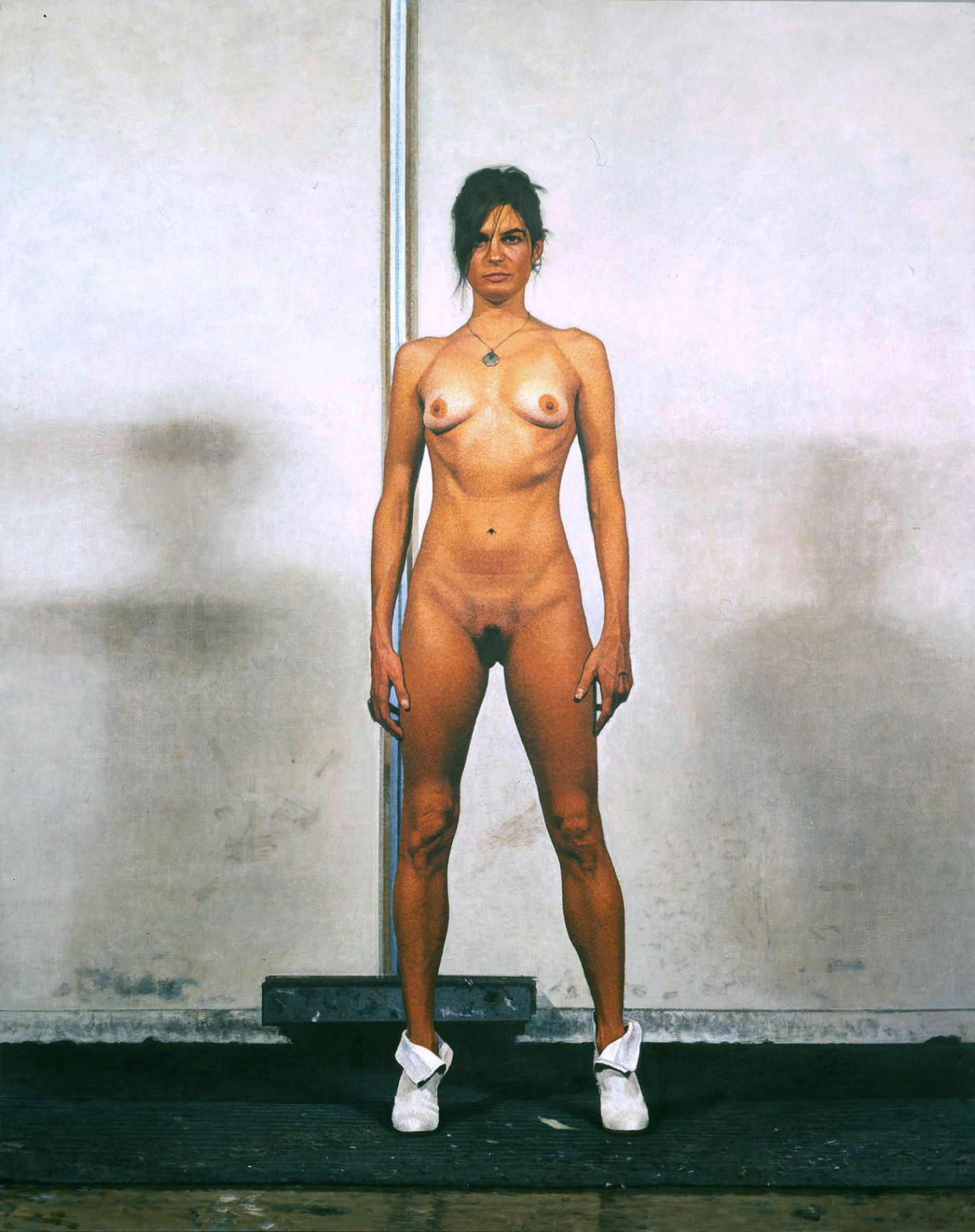 Bernardo Siciliano, Nicole (SOLD), 2008, oil on canvas, 95 1/2 x 78 inches