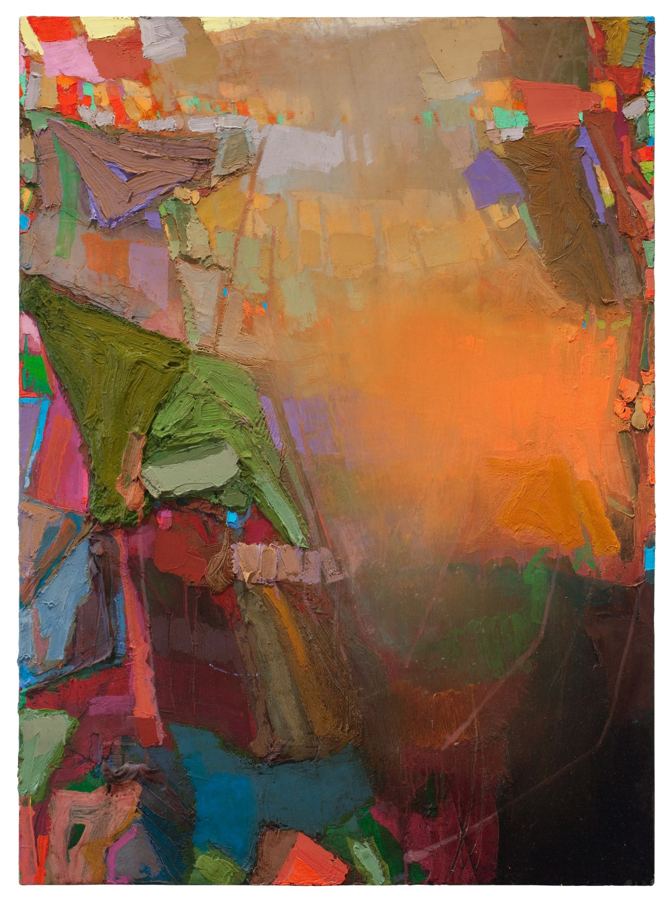 Brian Rutenberg, Tidesong 16, 2009-10 oil on linen 38 x 28 inches