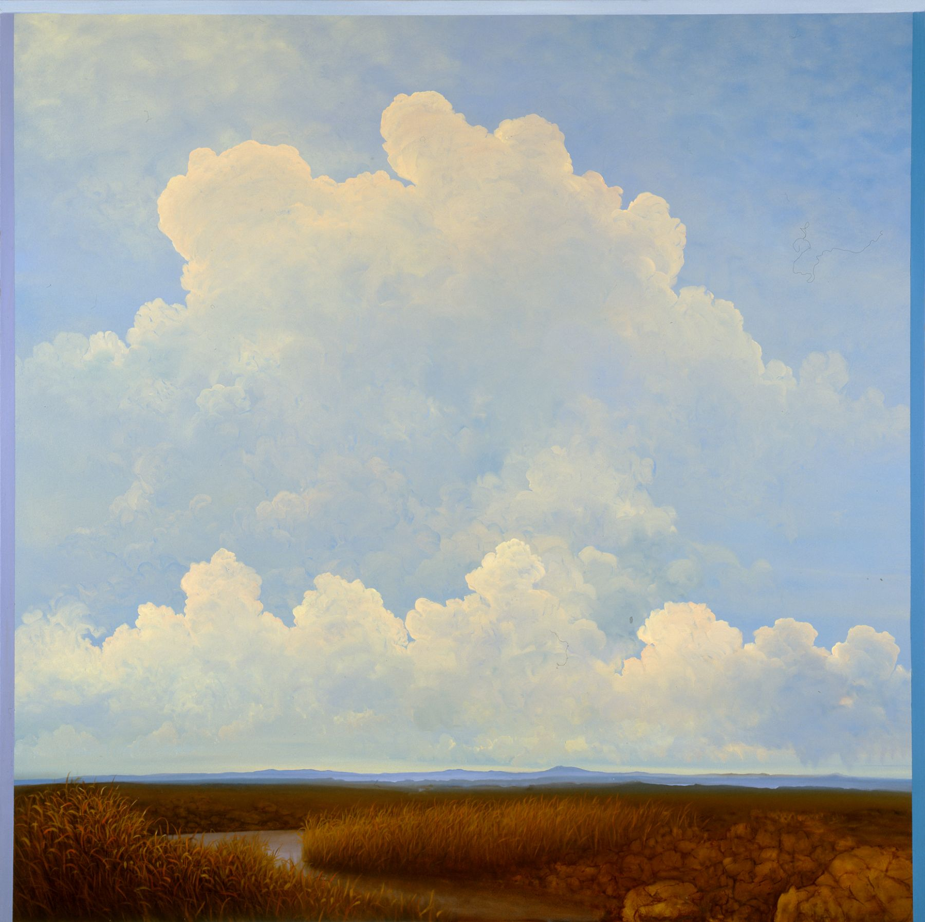 Tula Telfair, Justified by the Possibility (SOLD), 2008, oil on canvas, 60 x 60 inches