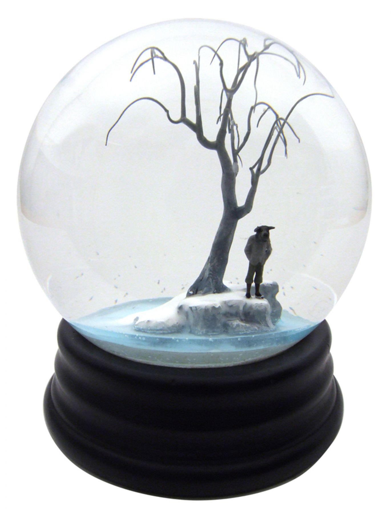 Walter Martin & Paloma Munoz, Traveler CCXXXI (231), 2012, glass, wood, water and plastic, 9 x 6 x 6 inches