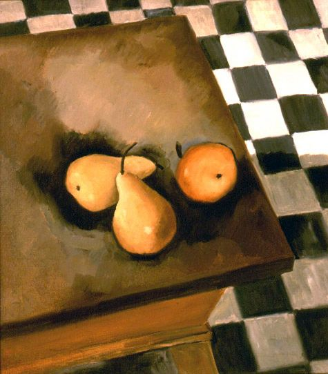 Ralston Crawford, Still Life on Dough Table, 1932, oil on canvas, 20 x 18 inches