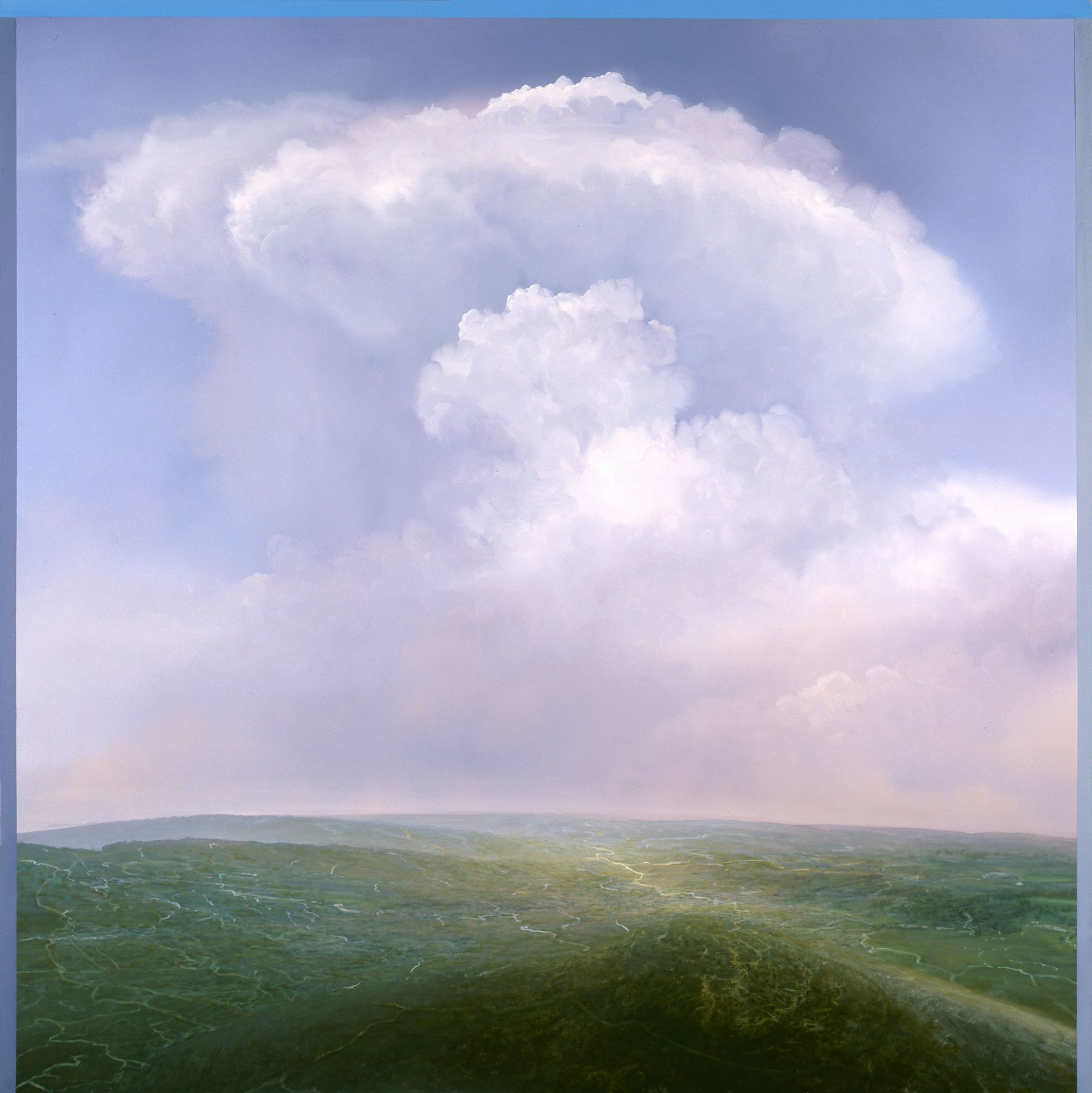 Tula Telfair, The Goals Come Ever More Clearly Into View, 2008, oil on canvas, 60 x 60 inches