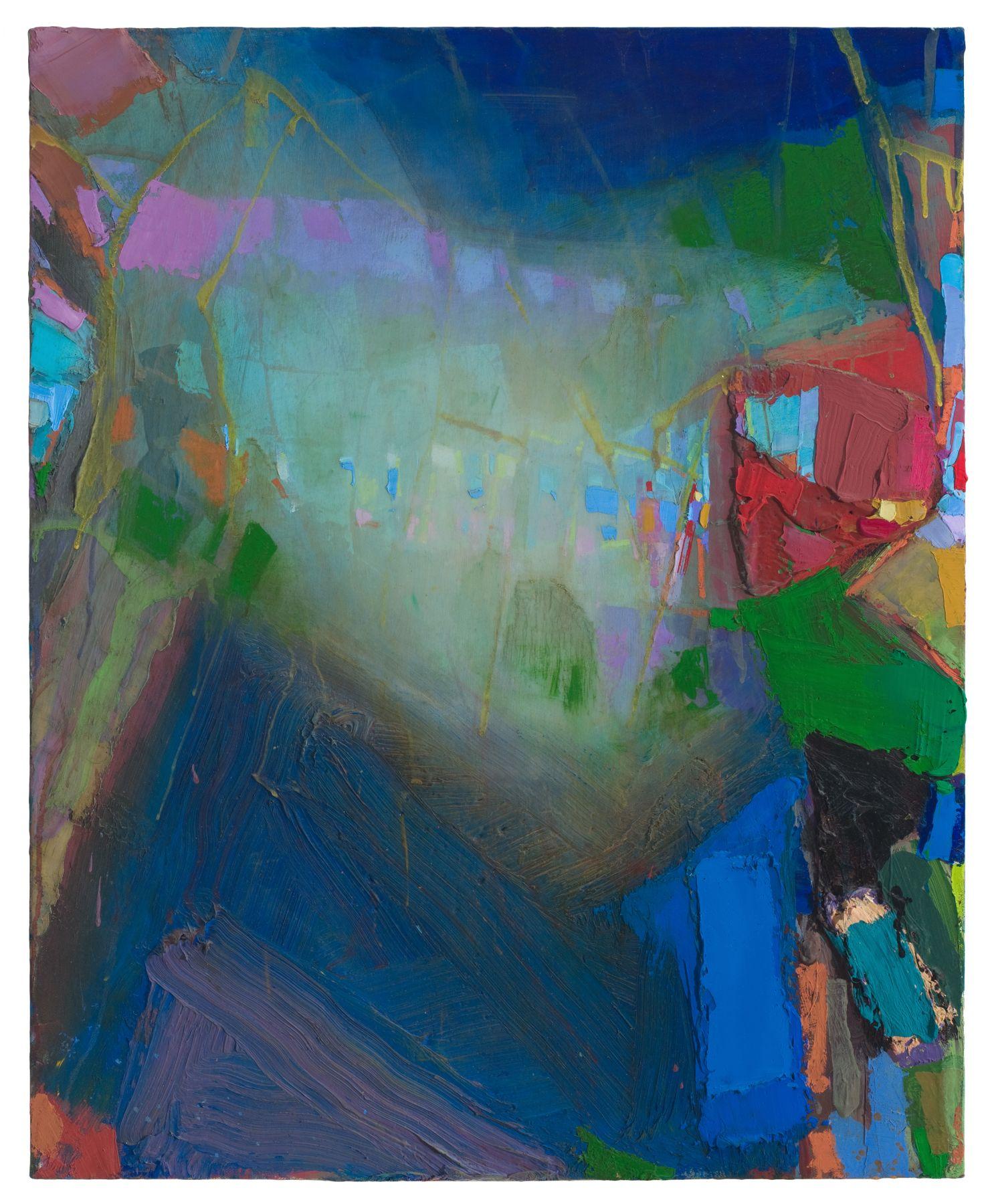 Brian Rutenberg Gainsborough Suite (SOLD), 2010, oil on linen, 32 x 26 inches