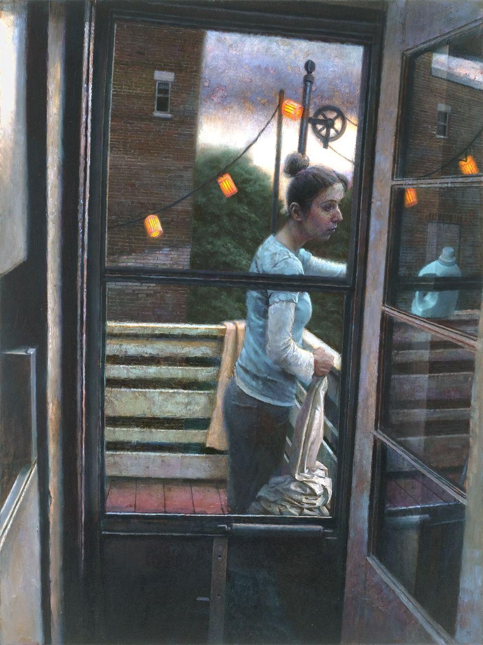 Paul Fenniak, Out of Reach, 2011, oil on canvas, 48 x 36 inches